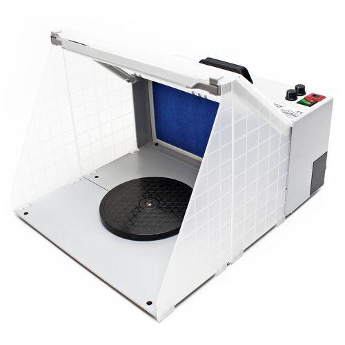 Wiltec - Airbrush Farbnebel Absauganlage 4m³/min Beleuchtung Absaugung