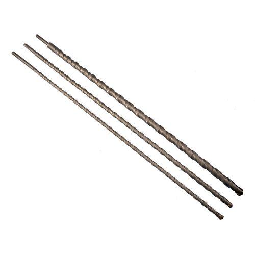Miso Tools - Betonbohrer Set SDS PLUS DRILL 12-16-24 x 750mm Bohrer