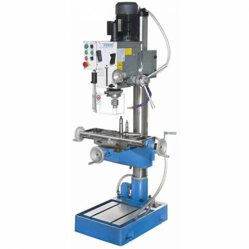 FERVI Bohrmaschine Fräsmaschine Metallbearbeitung 400V Fervi T047/400Vda