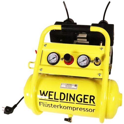 WELDINGER FK120 compact WELDINGER Flüsterkompressor 980 W Druckregler