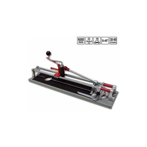 VOREL Fliesenschneider 600 mm 3 Funktionen Fliesenlochschneider