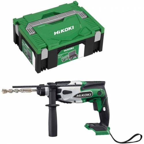 HiKOKI Akku-Bohrhammer DH18DSLL2Z SDS-plus 18 V 1,4 J Schlagenergie