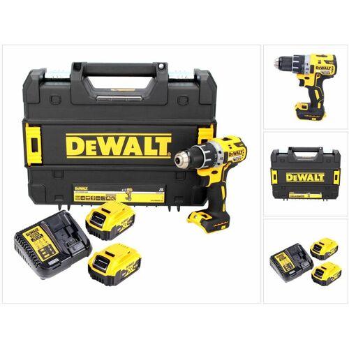 DeWalt DCD 791 P2 Akku Bohrschrauber 18V 70Nm Brushless + 2x Akku 5,0Ah