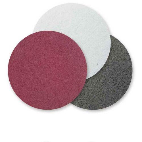 MENZER 10 MENZER Schleifvliese f. Exzenterschleifer, Ø 115 mm / grob /