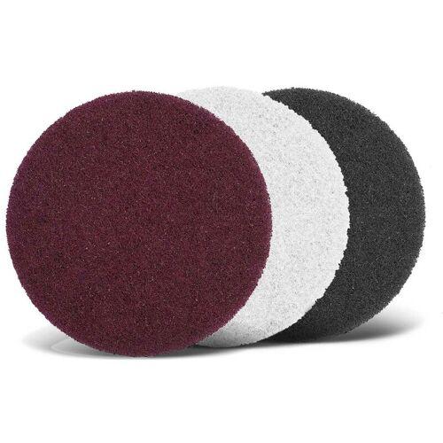 MENZER 10 Schleifvliese f. Exzenterschleifer, Ø 125 mm / sehr fein /