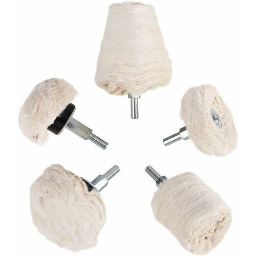 BARES Polierscheibe Polieraufsatz für Bohrmaschine Felgen Polier Wheel
