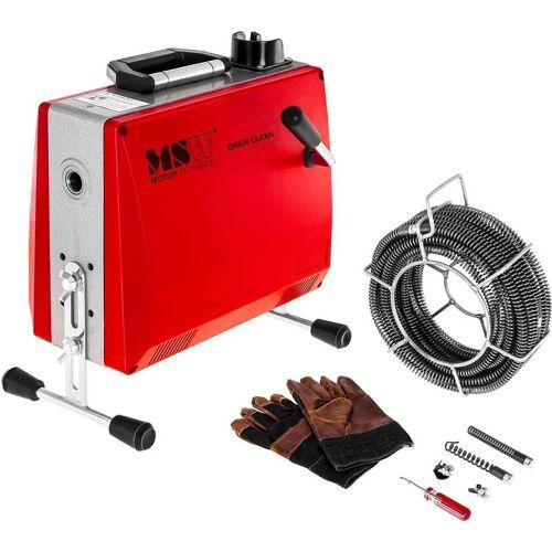 MSW - Rohrreinigungsmaschine 390 W Rohrreinigungsgerät Rohrreiniger