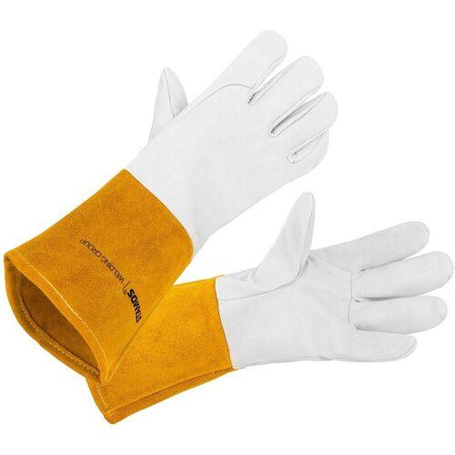 STAMOS Schweißerhandschuhe Gr. 10 XL Schweißhandschuhe hoher Kevlar-Fäden