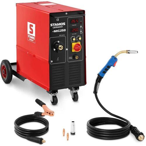 Stamos Welding - Schweißgerät MIG MAG Schutzgas 250 A 400 V ED 60 %