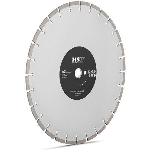 MSW Diamanttrennscheibe 400 mm Trennscheibe Beton Trennscheibe für Fliesen