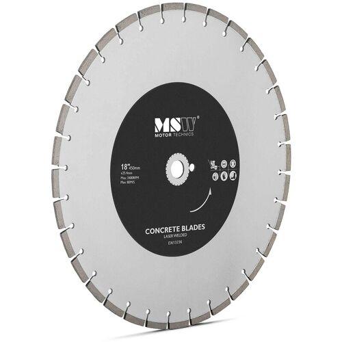 MSW Diamanttrennscheibe 450 mm Trennscheibe Beton Trennscheibe für Fliesen
