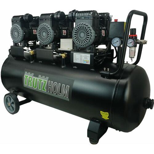 TRUTZHOLM® Silent Flüsterkompressor 90L leise Kompressor 2250W TH-fk90l