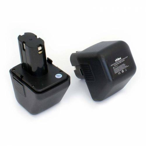 vhbw 2 x NiMH Akku 3000mAh (12V) für Elektro Werkzeug Lematec 12V wie