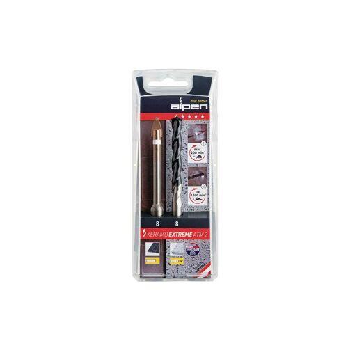 ALPEN 300062100 Keramikbohrer Keramo extreme Set 6 mm 115 mm - Alpen