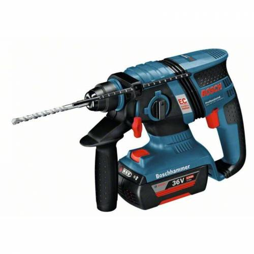 Dewalt - Akku-Bohrhammer GBH 36 V-EC Compact mit 2x 2.0 AhAkku L-BOXX