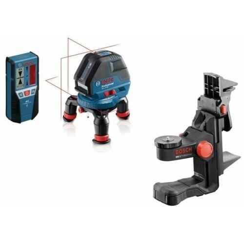 Bosch Linienlaser GLL 3-50 + BM1+LR2+L-BOXX