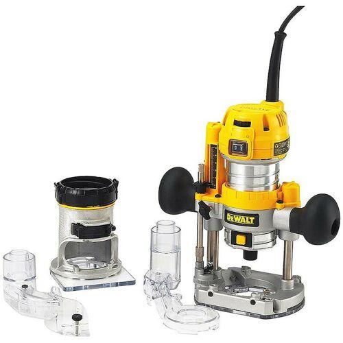 DeWalt - Multifunktions-Oberfräse 900 Watt 8mm mit 900 Watt - D26204K -
