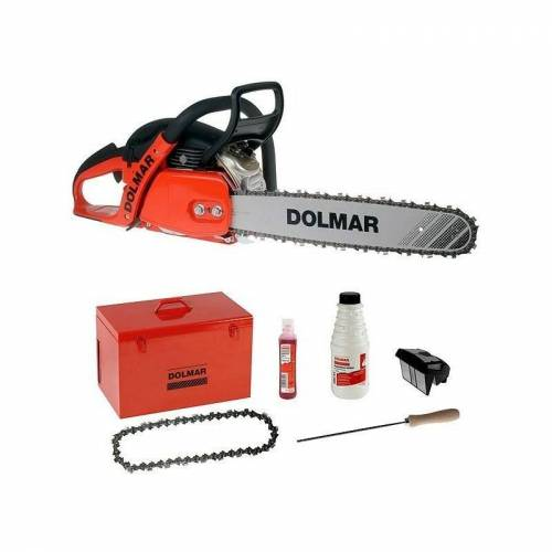 DOLMAR 2-Takt 50 cm3 KIT 45 cm Pro Kettensäge - PS5105CKIT45 - Dolmar