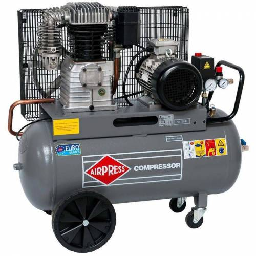 Airpress® ölgeschmierter Druckluft-Kompressor 5,5 PS   4 kW 11 bar 90