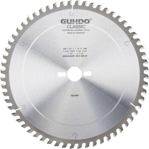 GUHDO HW-Dach-Hohlzahn-Kreissägeblatt 303x3,2x30 mm Z60 DH - Guhdo