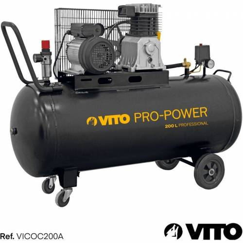 VITO Kompressor 200 Liter 10-15 bar 230V - Vito