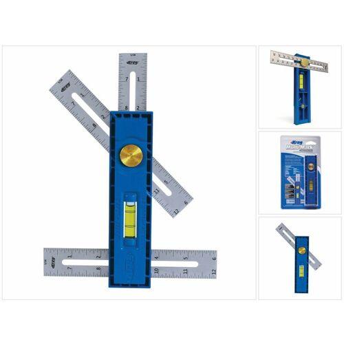 KREG Multi-Mark Messwerkzeug ( KMA2900 ) Winkelmesser Wasserwaage