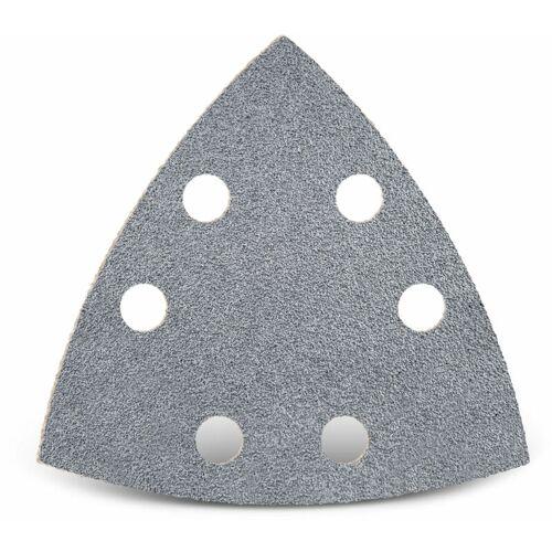 MENZER 50 MENZER Klett-Schleifblätter f. Deltaschleifer, 93 mm / 6-Loch / K40