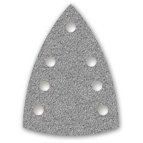 MENZER 50 MENZER Klett-Schleifblätter f. Deltaschleifer, 150 x 100 mm / 7-Loch