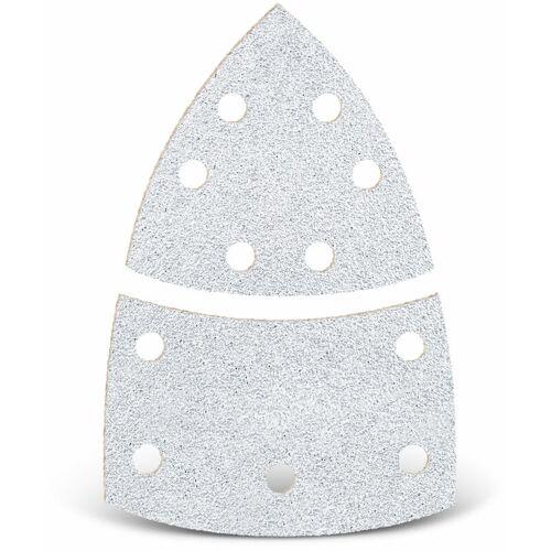 MENZER 50 MENZER Klett-Schleifblätter f. Deltaschleifer, 93 mm / 62 x 102 mm /