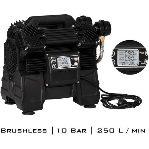 STAHLWERK Brushless Kompressor ST-1215 BL Flüsterkompressor Druckluft