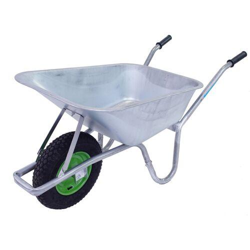 BAUMARKTPLUS TrutzHolm® Schubkarre 100 L Hofkarre Gartenschubkarre Schiebkarre 250 kg