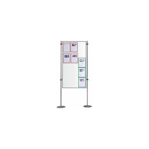 QUIPO Magnettafel   Weiß   Mit Metallstativ   BxT 800 x 1500 mm - Quipo