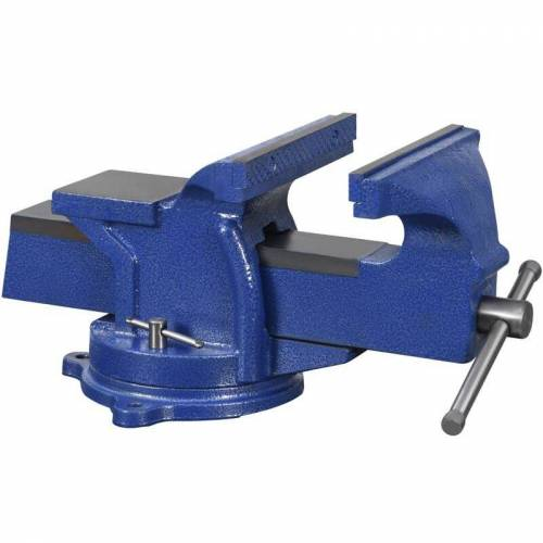 VIDAXL Schraubstock mit Drehteller 200 mm