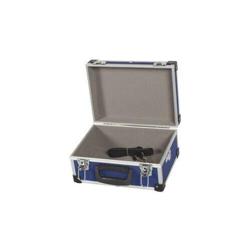 Perel Aluminium-werkzeugkoffer 330 x 230 x 150mm - blau (1821-BL) - Perel