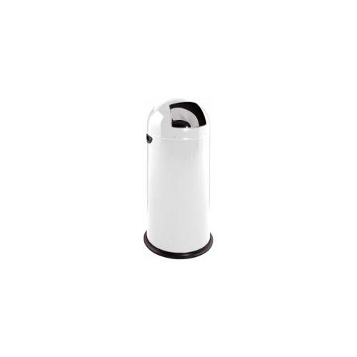 CERTEO Abfallbehälter   Stahlblech   52 l   Weiß   VAR Abfallbehälter