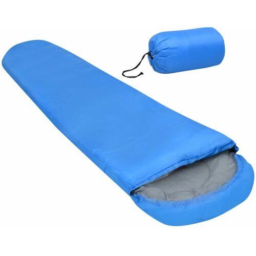 VIDAXL Leichter Schlafsack Blau 15? 850g