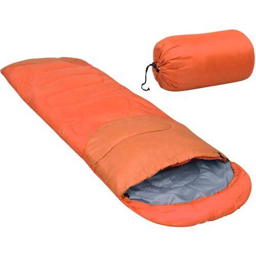 VIDAXL Leichter Schlafsack Orange 15? 850g