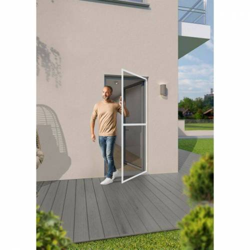 TRENDLINE Insektenschutz-Tür 100 x 210 cm, weiß - Trendline