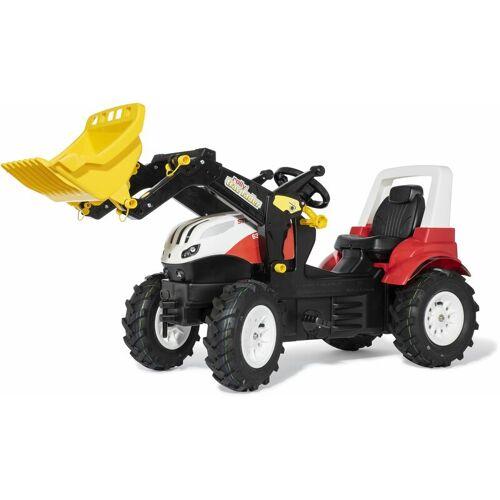 ROLLY TOYS Tretfahrzeug Steyr 6300CVT Traktor RollyToys Kinderfahrzeug Luftreifen,