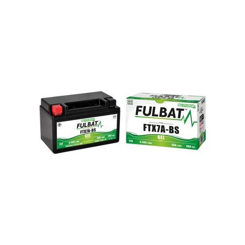 FULBAT Motorradbatterie YTX7A-BS abgedichtet 12V / 6 Ah