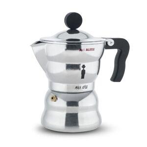 Alessi A Di Alessi Espressokocher Moka Aluminium 150 ml