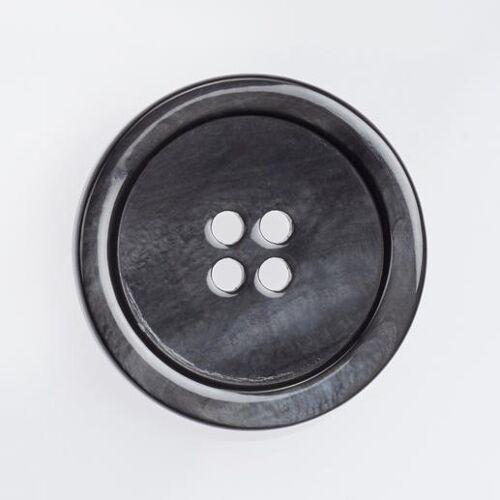 Klassischer Perlmuttknopf, 1 Stück, Ø 25 mm