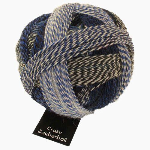 Schoppel Wolle Sockenwolle Zauberball® Crazy von Schoppel Wolle, Pause in Blau