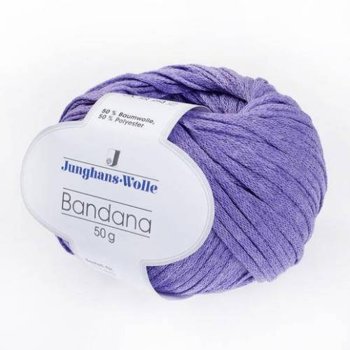 Junghans-Wolle Bandana von Junghans-Wolle, Lila