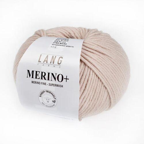 LANG Yarns Merino+ von LANG Yarns, Marzipan
