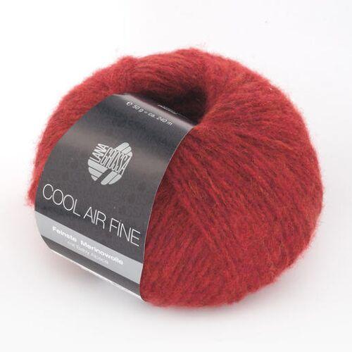 Lana Grossa Cool Air Fine von Lana Grossa, Rot