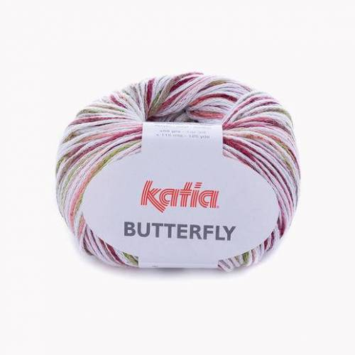 Katia Butterfly von Katia, Rot/Pistaziengrün