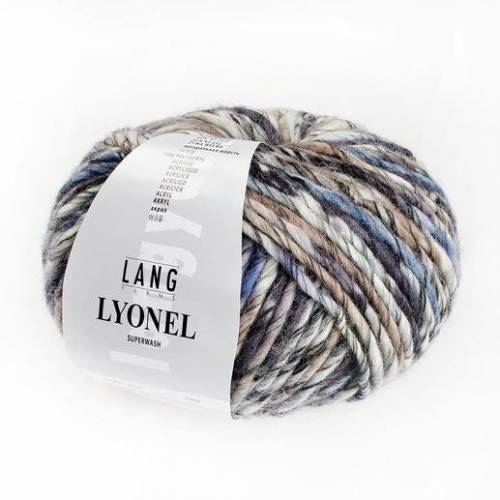 LANG Yarns Lyonel by Lang Yarns, Grau