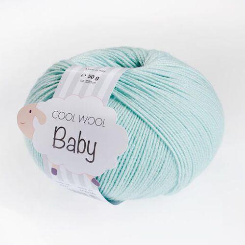 Lana Grossa Cool Wool Baby, 50 g von Lana Grossa, Helltürkis