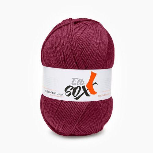 ggh Sockenwolle ElbSox Merino 4-fädig von ggh, Weinrot